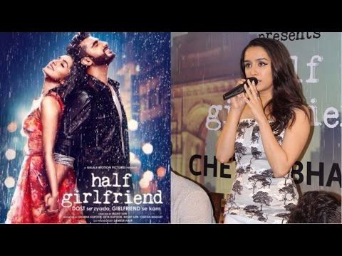 "Shraddha kapoor, ""I'm Lucky To Play Riya Somani In Half Girlfriend"""
