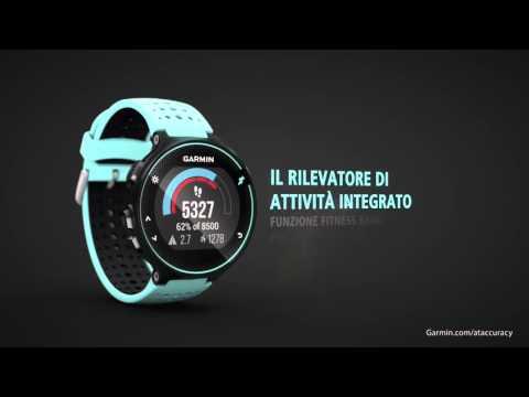 Forerunner 235 - Orologio GPS per la corsa con frequenza cardiaca al polso (Italiano)