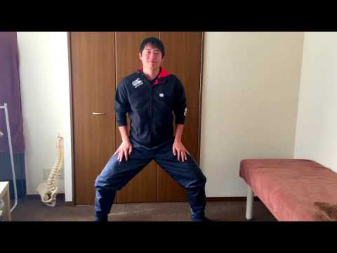 四股踏みトレーニングで腹筋&体幹を強化!