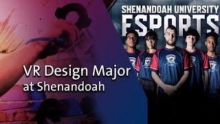 Virtual Design and Esports Programs at Shenandoah University