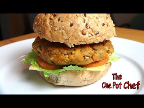 veggie - ONE POT CHEF COOKBOOKS ON iTUNES BOOKSTORE: http://itunes.apple.com/au/artist/david-chilcott/id478668534?mt=11 Easy Veggie Burgers are a wonderful meat-free ...