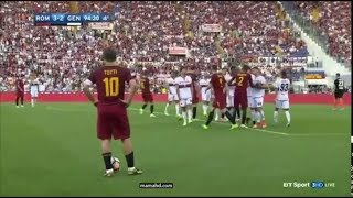 Download Video Francesco Totti last minute at Roma MP3 3GP MP4