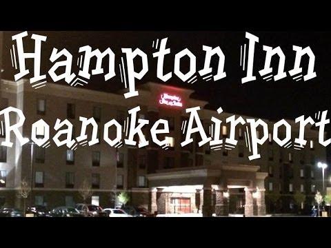 Hotel Tour:  Hampton Inn Roanoke Airport