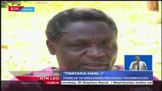 Familia Ya Binti Wa Chuo Kikuu Cha Kenyatta Aliye Uawa Yadai Haki