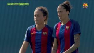 FC Barcelona Femenino vs Betis [3-0][Liga Femenina][Jornada 25][16/04/2017] Sonido AmbienteBarcelona Femenino vs Betis [3-0][Liga Femenina][Jornada 25][16/04/2017] Sonido AmbienteBarça Femenino vs Betis [3-0][Liga Femenina][Jornada 25][16/04/2017] Sonido AmbienteFC Barcelona Femenino - Betis: Rotundas hacia el liderato (3-0)Las jugadoras de Xavi Llorens aprovechan una oportunidad de oro y se sitúan líderes gracias a la victoria ante el Betis con dos goles de Alexia Putellas y uno de Jenni Hermoso----------------------------------------------------------------------------------------------- SUSCRÍBETE: https://www.youtube.com/user/Zonajuanjos- twitter: https://twitter.com/Zonajuanjo- Listas de reproducción: https://goo.gl/lbwO6J- FC Barcelona 2016/2017: https://goo.gl/ETTkxL- Barça B 2016/2017: https://goo.gl/XFO6aw- Barça Femenino 2016/2017: https://goo.gl/KH1wwU- El Fajiazote del Tio Faja: https://goo.gl/6mBUEm- Los Mesetazos de Victor Lozano: https://goo.gl/nSF3rG- BarçaFans: https://goo.gl/XMEXCv- [8aldia] La tertúlia esportiva: https://goo.gl/ar2Vx2Temporadas del FC Barcelona:- FC Barcelona - Temporada 2014-2015: https://goo.gl/K9BbKS- FC Barcelona - Temporada 2015-2016: https://goo.gl/VcEvro- FC Barcelona - Temporada 2016/2017: https://goo.gl/ETTkxLVídeos de interés:- CLÁSICOS CULÉS EN EL BERNABÉU: https://goo.gl/WMLQHY- Johan Cruyff. La leyenda del Fútbol: https://goo.gl/ONPrcs- La rúa y la Celebración del TRIPLETE: https://goo.gl/b8f7pm- Final de la Champions 2015 FC Barcelona: https://goo.gl/ngIph5- Xavi se despide del Barça: https://goo.gl/4PmzI5- Cracs i Catacracs del FC Barcelona: https://goo.gl/VL8iyV