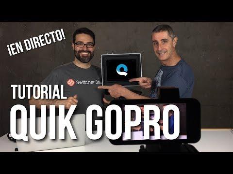GoPro Quik tutorial en español... ¡en directo!  #elvideoesmovil 📽📲