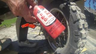 10. Rear Brake pad replacement on a BMW G 650  GS Sertao How too