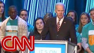Video Joe Biden slams Trump's response on Rob Porter MP3, 3GP, MP4, WEBM, AVI, FLV November 2018