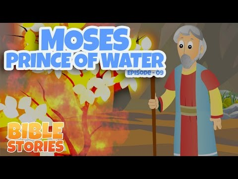 Bible Stories for Kids! Moses: The Prince of Water (Episode 9)