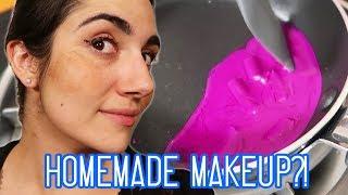 Video Full Face Of DIY Makeup Challenge (feat. Natalies Outlet) MP3, 3GP, MP4, WEBM, AVI, FLV Juli 2018