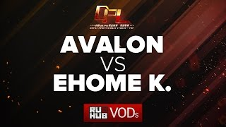 Avalon vs EHOME.K, DPL Season 2 - Div. B, game 1 [Tekcac, Jam]