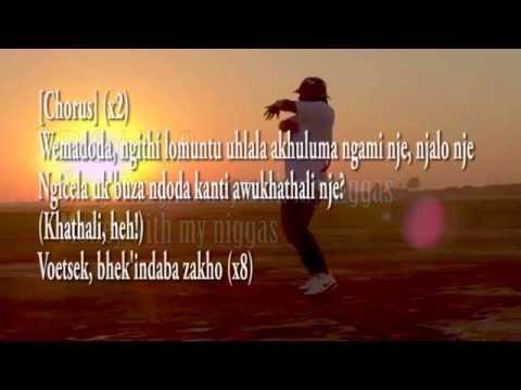 Cassper Nyovest - Bhek'Indaba Zakho (Lyrics)