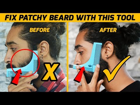 Beard oil - How to Style & Shape Patchy Beard with this Tool