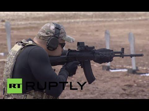 Russia: Kalashnikov present new prototype PL-14 'Lebedev Pistol' at Army-2015 expo