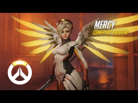 Gameplay de Mercy