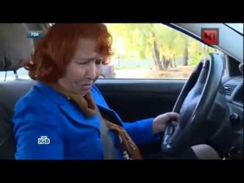 в Уфе 80 летняя бабушка сдает экзамен на водительские права - DomaVideo.Ru