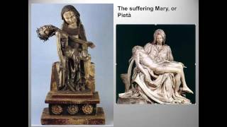 The second half of my closing lecture for this unit focuses on portrayals of Mary, and the required moralized Bible images.