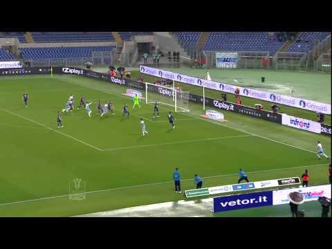 Lazio-Napoli 1-1 Andata Semifinale TIM CUP 2014/2015 Sintesi (4 min)
