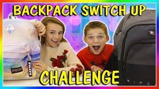 Video BACKPACK SWITCH UP CHALLENGE | We Are The Davises MP3, 3GP, MP4, WEBM, AVI, FLV Desember 2018