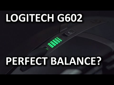 Logitech G602 Wireless Gaming Mouse Unboxing & Overview