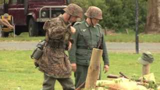 Karapiro New Zealand  City pictures : WW2 Battle Reenactment Karapiro New Zealand