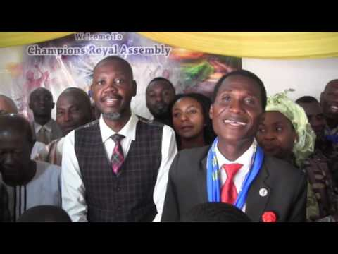 "Bro Joshua Iginla""s Happy Birthday song from Chamapions Ghanaa"