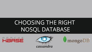 NoSQL Vs RDBMS | HBase Vs Cassandra Vs MongoDB | NoSQL | NoSQL Vs SQL | NoSQL Tutorial For Beginners