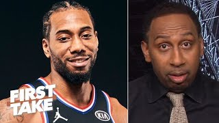 Stephen A. is hearing Kawhi is strongly considering the Lakers in free agency | First Take