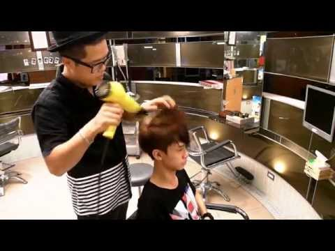 新亂剪創意總監LEO 教你抓頭髮 – how to style a pompadour – Clipper over comb