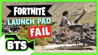 Video Fortnite Launch Pad Fail! (BTS) MP3, 3GP, MP4, WEBM, AVI, FLV September 2018