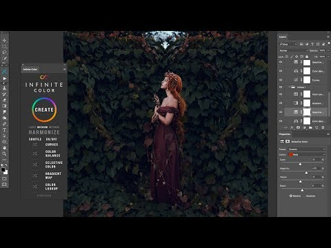Introducing Infinite Color - The Photoshop Color Grading Panel