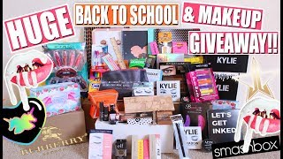 "You guys have been absolutely amazing!! I still can't believe how sweet ya'lls comments are on my new videos and how you always talk to me on my socials!! I knew this WAS the year I finally had to do a back to school giveaway. I threw in a bunch of my faves cause I miss school shopping waah (not school tho lol). I wanted to a do back to school items like school supplies but also makeup because I always used to love going above and beyond the first day back! I love makeup giveaways so I hope you do too! This is worldwide/ international giveaway so everyone can participate! I hope you like this huge back to school and makeup giveaway! -----((ooo and HUUUGE ps, i totally forgot the show the Hard Candy lip set and the wet n wild mini mascara set!! They are included in Prize 1! They were falling out of the box I was holding and I forgot to pick them up for the vid lol)How to enter:1) I'm giving back to all my subscribers so be a subscriber of mine2) Comment down below with something you are excited about this school year!! (ENTER ONCE)Extra entries (not required):--Follow me on Instagram (theresahuaroto)--Repost ""giveaway"" insta pic (https://www.instagram.com/p/BW-u6pdljKn/) with #theresahuarotobts-- Tag friends on MY ""giveaway"" insta pic (each friend tagged is an entry)--Follow me on Snapchat (theresamariaxox)--Follow me on Twitter (theresahuaroto)--Like my Facebook (theresahuaroto)If you're not 18 and older then get your parents permission to enter and YES this is international / worldwidel!! DO NOT trust anyone telling you that you've won, or a DM that you've won. I will be filming a short video saying your USERNAME if you've won so that you know it's actually me! This giveaway ends August 25th!--Entries which don't comply with Youtube's Community Guidelines (https://www.youtube.com/yt/policyandsafety/communityguidelines.html) will be disqualified. YouTube is not a sponsor of this contest and by entering you agree YouTube is released from any and all liability related to this contest.WANNA GET TO KNOW ME EVEN BETTA?? *Instagram: theresahuaroto*Snapchat: theresamariaxox*Twitter: https://twitter.com/#!/theresahuaroto*Facebook: http://www.facebook.com/theresahuaroto*Blog: http://theresahuarotoxo.blogspot.com/*Tumblr: http://theresahuaroto.tumblr.com/*Pinterest: theresahuaroto__________________________________If you have an ideas for new videos or tags, questions etc please message me and let me know!! I love hearing from you guys and you mean the world to meee!!!Subscribe if you haven't and I will looooove you, pinky promise!!!**Any business inquires you can email me at thr4492@live.com, any other inquires hit me up on the links above!__________________________________FTC Disclaimer: I am not being compensated for this video. All opinions are my own (as will always be). Links may be affiliate."