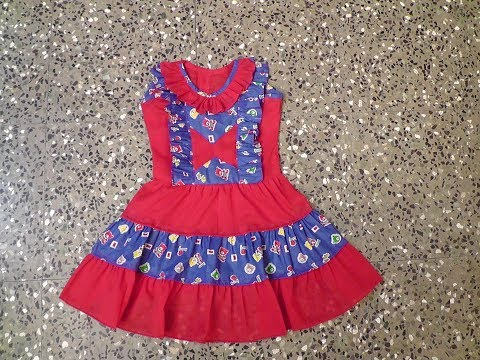 Video KIDS COTTON FROCK WITH FRILL CUTTING AND STITCHING IN TAMIL download in MP3, 3GP, MP4, WEBM, AVI, FLV January 2017