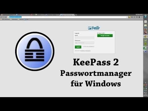 KeePass 2 Passwortmanager für Windows | Tutorial deutsch