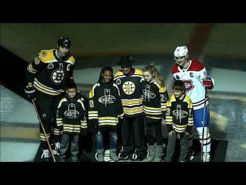 Video: Bruins honour Willie O'Ree before game against Canadiens
