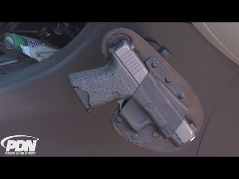 Personal Defense Network: CrossBreed's RAM Mount In-Car Holster (видео)