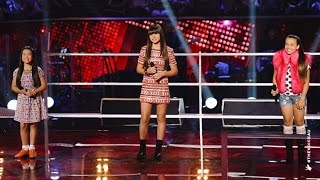 Trinity, Bella and Sienna Sing When You Believe | The Voice Kids Australia 2014 Video
