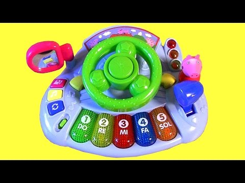 Drive - Welcome to Blucollection ToyCollector. This is the Nickelodeon Peppa Pig Car Piano Driver with lights sounds and songs from the Nickelodeon cartoon show. This Peppa Car Piano Driver features...