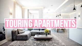 TOURING APARTMENTS + OUR STORE OPENS TOMORROW! by Aspyn + Parker