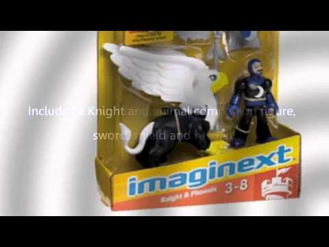 Video YouTube video advertisement of the Imaginext Knight And Phoenix