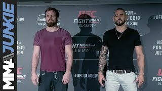 Nonton UFC Fight Night 113 media day face-offs Film Subtitle Indonesia Streaming Movie Download