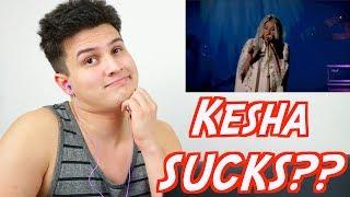 "Video Vocal Coach Reacts: ""KESHA SUCKS!"" - Kesha Sings Praying Reaction (Live Performance @ YouTube) MP3, 3GP, MP4, WEBM, AVI, FLV Maret 2019"