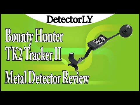 Bounty Hunter TK2 Tracker II Metal Detector Review