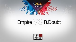 Empire vs RD, game 1