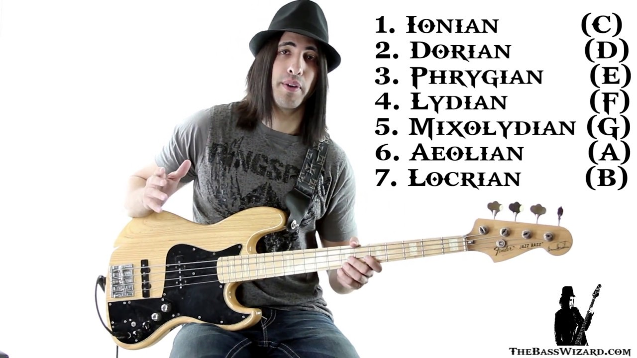 Bass Lesson – Beginner's Guide to Scales and Modes (The Bass Wizard)