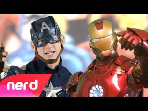 Captain America Vs Iron Man Rap Battle