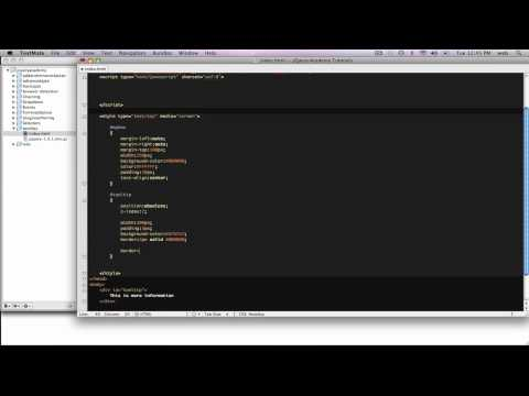 jQuery Intermediate 1: Basic Tooltips