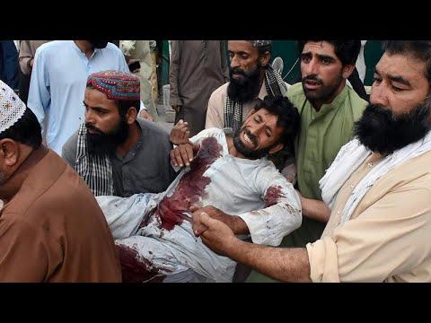 Wahlkampf in Pakistan: Mehr als 100 Tote bei blutigem Anschlag
