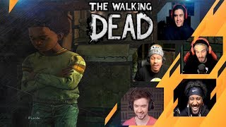 Gamers Reactions to AJ saying FACK | The Walking Dead: The Final Season
