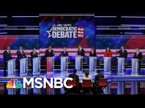 2020 Democrats Are 'Off To The Races' After Night One Of MSNBC Debate | MSNBC